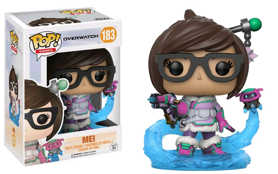 Overwatch - Mei Mid Blizzard US Exclusive Pop! Vinyl