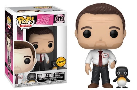 Fight Club Narrator with Power Animal - Pop! Vinyl Figure. Chase ed.