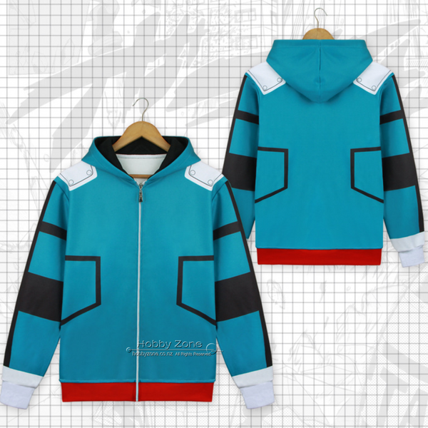 My Hero Academia Deku Battle Suit Cosplay Hoodie