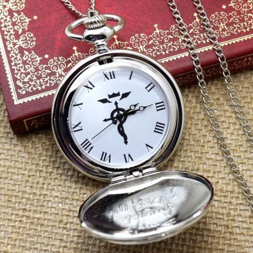 Full Metal Alchemist Cosplay Pocket Watch