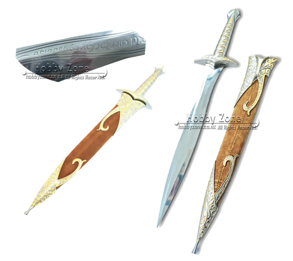 LOR The Hobbit Sting Sword of Frodo with Sheath
