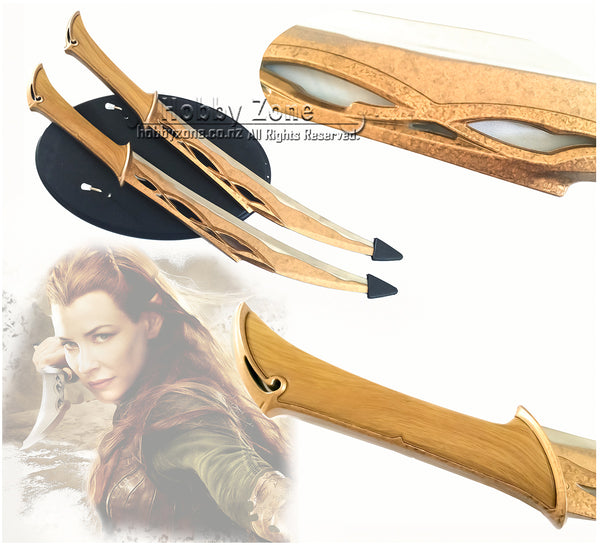 LOR Hobbit The Fighting Knives of Tauriel