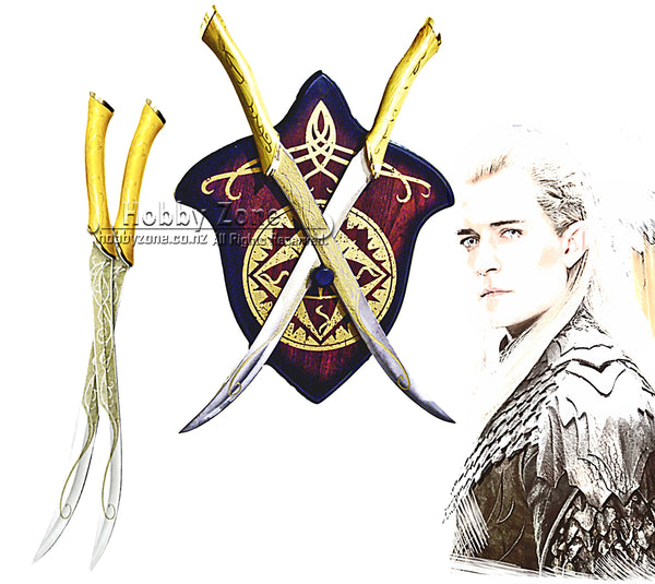 LOR The Hobbit The Fighting Knives of Legolas