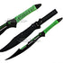 Zombie Killer Full Tang Green Machete 7