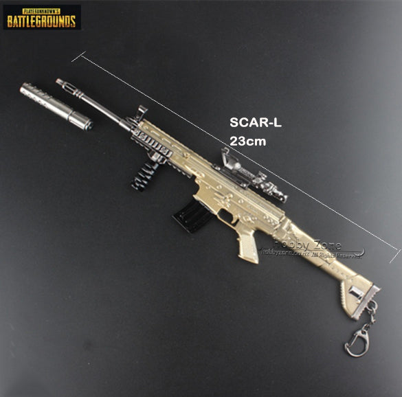 PUBG 23cm SCAR-L Miniature Gun Model