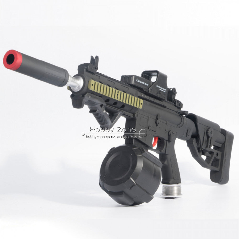 STD Gen 6 M4 Gel Ball Blaster - Drum Mag