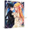 SAO Sword Art Online Kirito & Atsuna Canvas