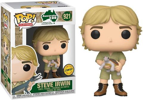 The Crocodile Hunter Steve Irwin - Pop! Chase ed