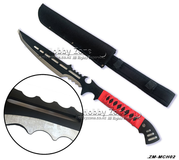 Zombie Killer Full Tang Black Ninja Sword Machete 3