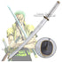 One Piece Zoro Wado Ichimonji Cosplay Sword