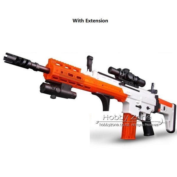 LH SCAR Gel Ball Blaster Cosplay Rifle Gun - Extendable Ver.