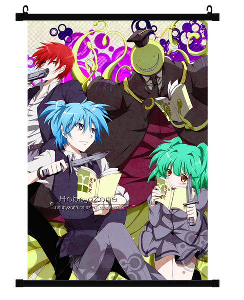 Anime Assassination Group Wall Scroll 02