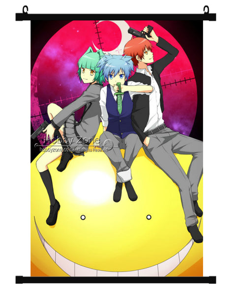 Anime Assassination Group Wall Scroll 03