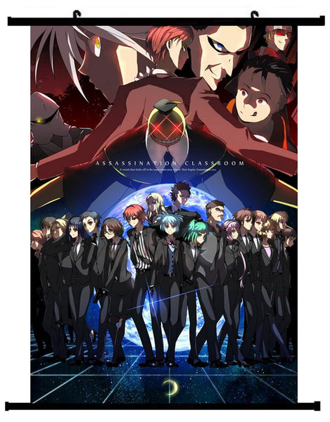 Anime Assassination Group Wall Scroll 01