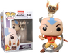 Avatar: The Last Airbender - Aang with Momo Pop! Vinyl Figure