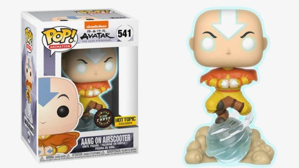 Avatar: The Last Airbender - Aang on Airscooter Pop! Vinyl Figure - Chase ed.