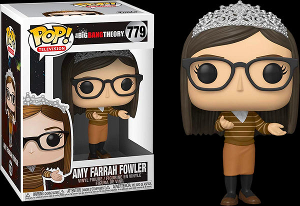 The Big Bang Theory - Amy Farrah Fowler with Tiara Pop! Vinyl Figure