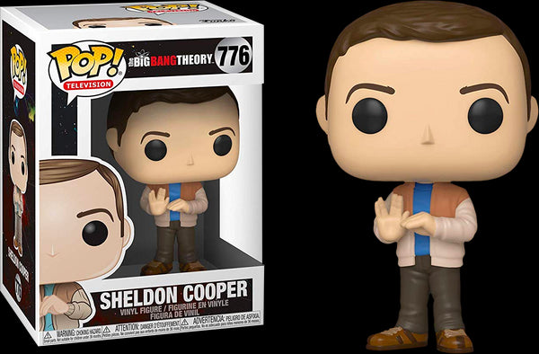 The Big Bang Theory - Sheldon Cooper in Lizard Spock Pose Pop! Vinyl Figure