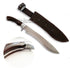 Fox N680 Forged Silver Matte Blade Hunting Knife