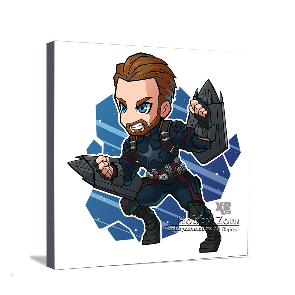 Superhero Chibi Captain America