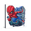 Superhero Chibi Spiderman Canvas