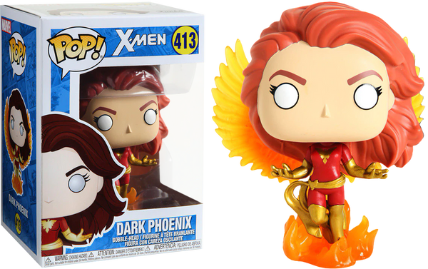 X-Men - Dark Phoenix with Flames Pop! Vinyl Figure (RS)