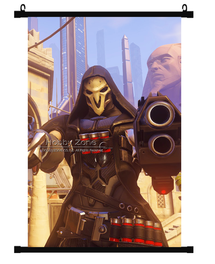 Overwatch Temple of Anubis Reaper Wall Scroll