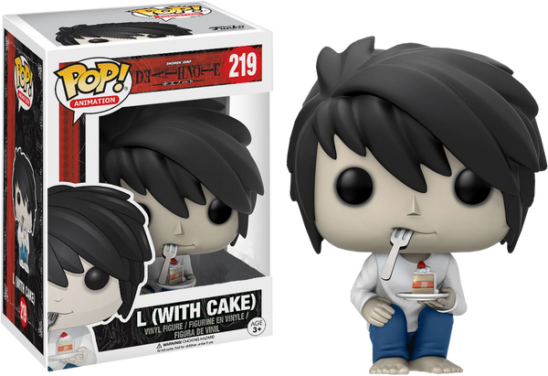 Death Note - L with Cake Pop! Vinyl Figure