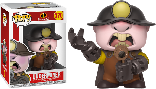 Incredibles 2 - The Underminer Pop! Vinyl Figure