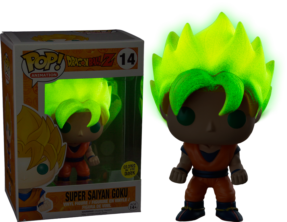Dragon Ball Z - Super Saiyan Goku Glow Pop! Vinyl Figure