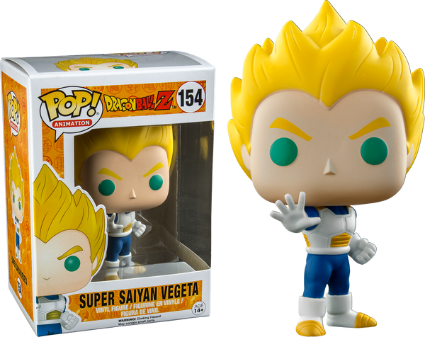 Dragon Ball Z - Super Saiyan Vegeta Pop! Vinyl Figure