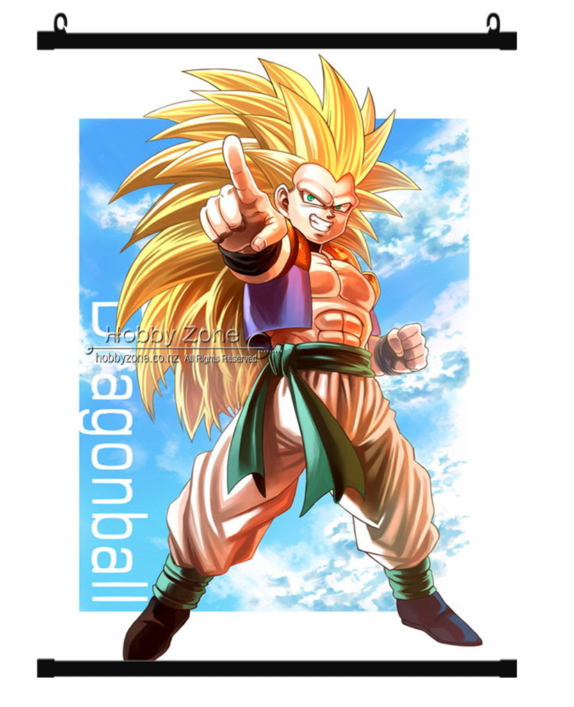 Dragon Ball Gotenks Wall Scroll 01