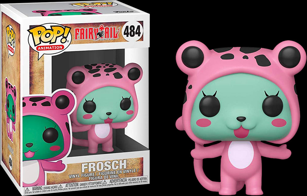 Fairy Tail - Frosch Pop! Vinyl Figure