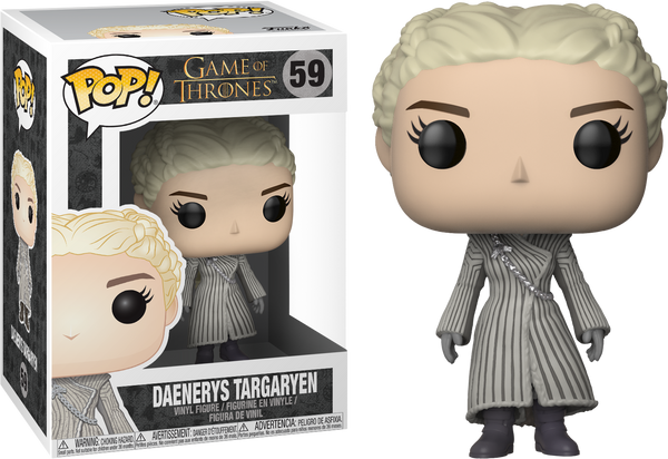 Game of Thrones - Daenerys Targaryen in White Coat Pop! Vinyl Figure
