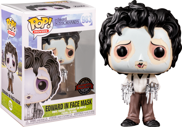 Edward Scissorhands - Edward Purple Mask Pop! RS