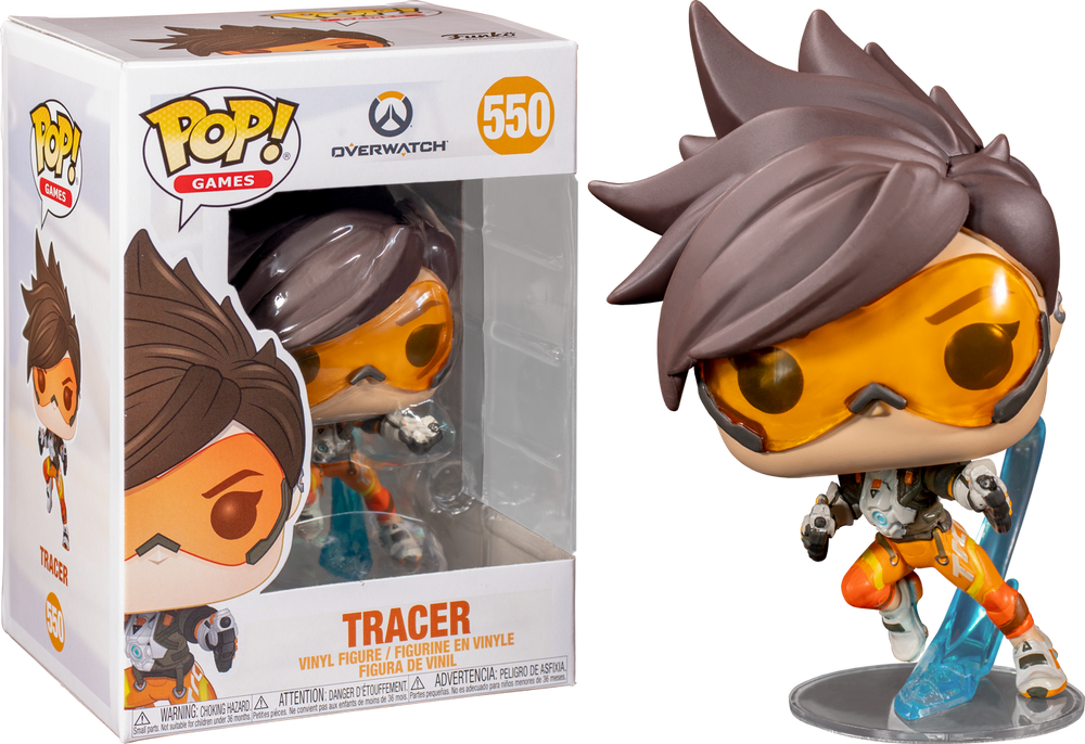Overwatch - Tracer with Guns Pop! Vinyl Figure