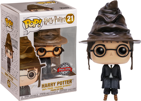 Harry Potter - Harry Potter with Sorting Hat Pop! Vinyl Figure