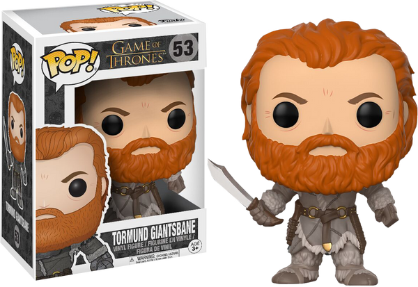 Game of Thrones - Tormund Giantsbane Pop! Vinyl Figure