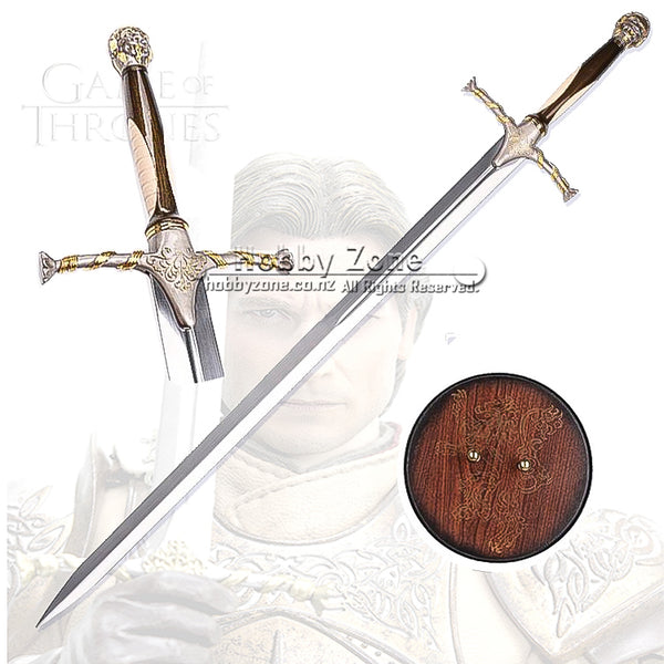 GOT Lannister Sword Replica with Plaque