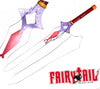 FairyTail Erza Scarlet Black Wing Armor Requip Sword
