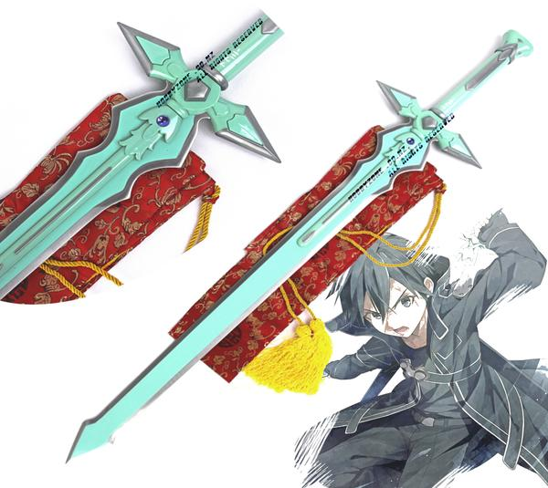Sword Art Online Kirito Swords Cosplay Set