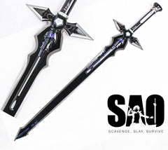 Sword Art Online Kirito's Dark Repulser Sword
