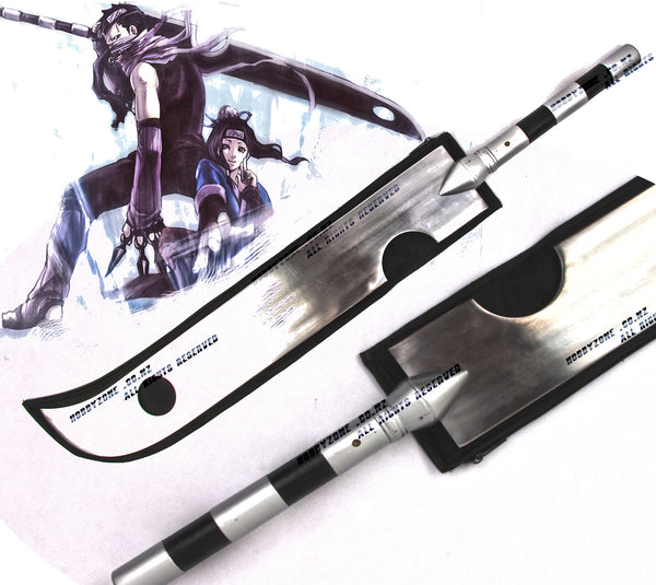 naruto momochi zabuza demon of the hidden mist sword knife