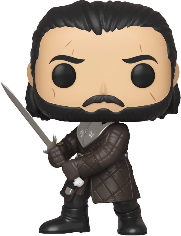 Game of Thrones - Jon Snow Battle Of Winterfell Pop! Vinyl Figure