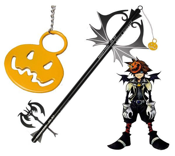 Kingdom Hearts Pumpkin Head Keyblade Cosplay Halloween Town