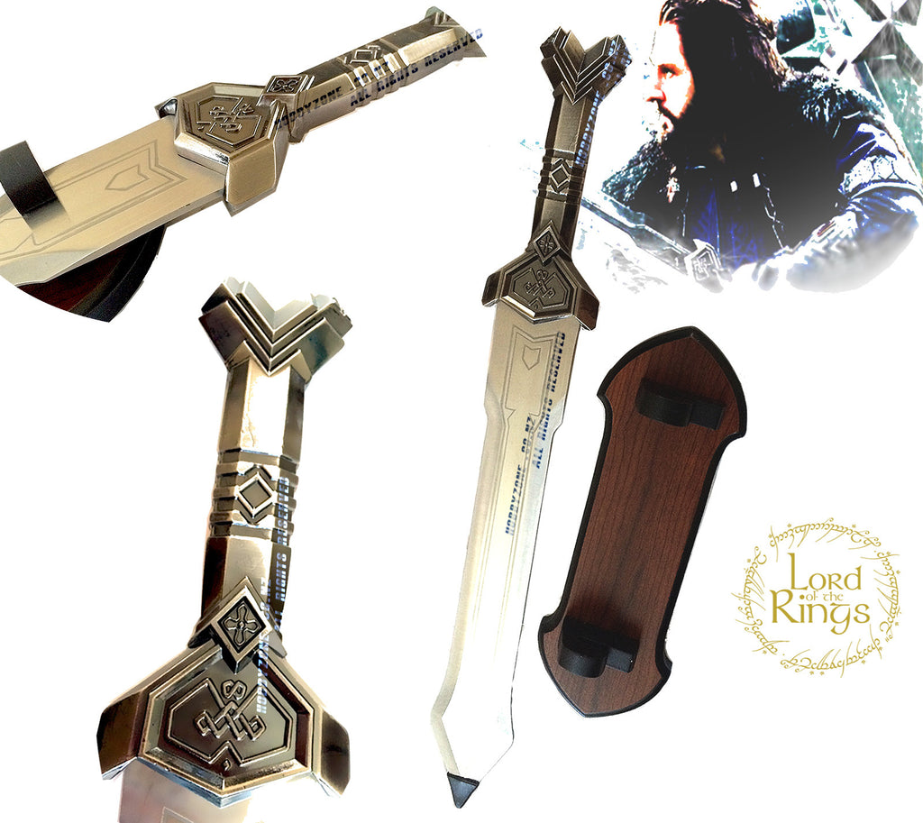 "LOR The Hobbit Dwarven Sword-""Deathless"" of Thorin Oakenshield"