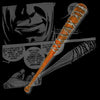 The Walking Dead Negan's Lucille Foam PU Cosplay Bat Replica