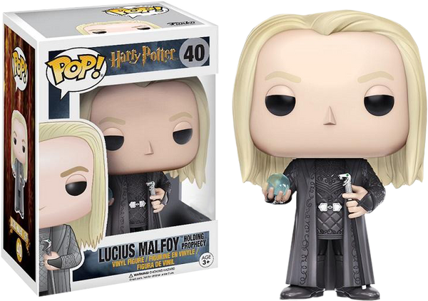 Harry Potter - Lucius Malfoy with Prophecy Pop! Vinyl Figure