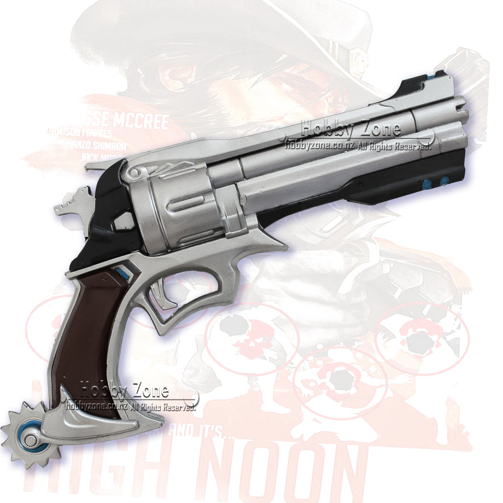 Overwatch Foam Jesse McCree Peacekepper Gun Pistol Cosplay Weapon