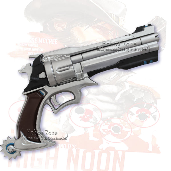 OW Foam Jesse McCree Peacekepper Gun Pistol Cosplay Weapon